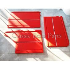 Door Panels Red