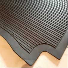 Trunk rubber mat