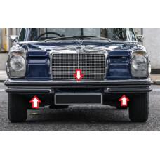 3 Pieces Front bumper rubber set