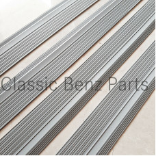 Door Sill Rubber Plate Cover Set of 4 Pieces Grey Colour