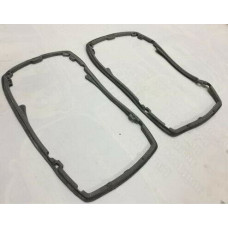 Headlight Assembly Rear Weathership Rubber Seal Gasket Pair Mercedes W114 W115