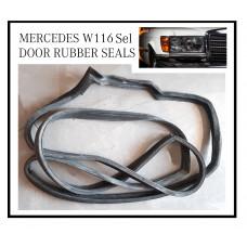 Door Rubber Seals Mercedes W116 SEL