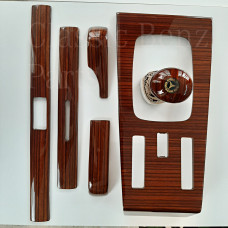 Zebrano Wood 6 Pieces Trim Set Configuration 3 Manuel