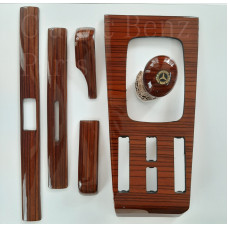 Zebrano Wood 6 Pieces Trim Set Configuration 4 Automatic