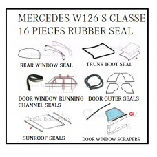 14 Pieces Weathership Rubber Seal Set