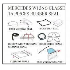 14 Pieces Weathership Rubber Seal Set