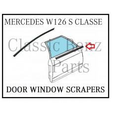 Door Window Glass Scraper Brushes W126 S CLASSE