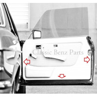 Door rubber seal pair Left Right