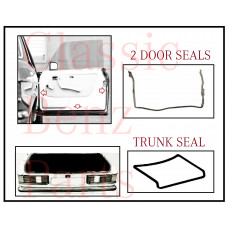 Door and Trunk Boot Lid Rubber Seals
