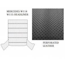 Roof Ceiling Sky Headliner Black Perforated Leather